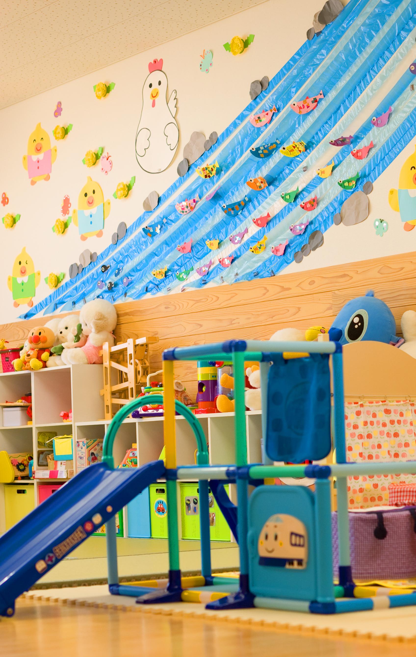 萩市子育て支援センターの部屋